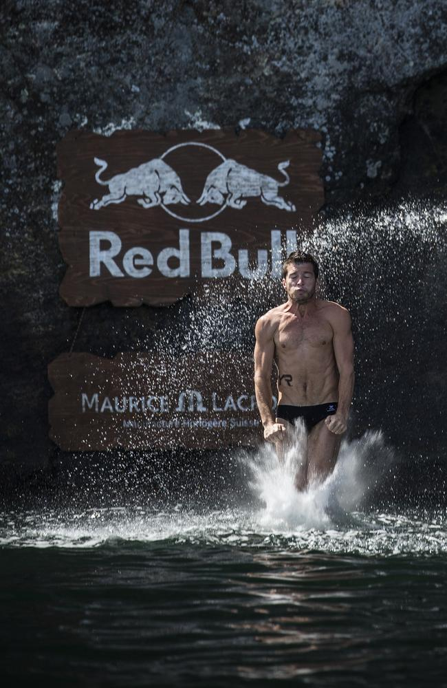 It's a combination of perfect technique and an understanding of the waters below. Picture: Red Bull.