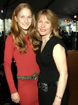Caroline Giuliani and her mother Donna Hanover in 2005. Picture: Getty