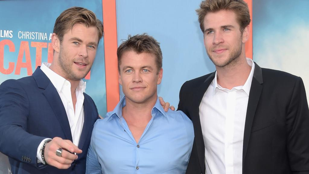 Luke Hemsworth says dad taught him and brothers Liam and ...