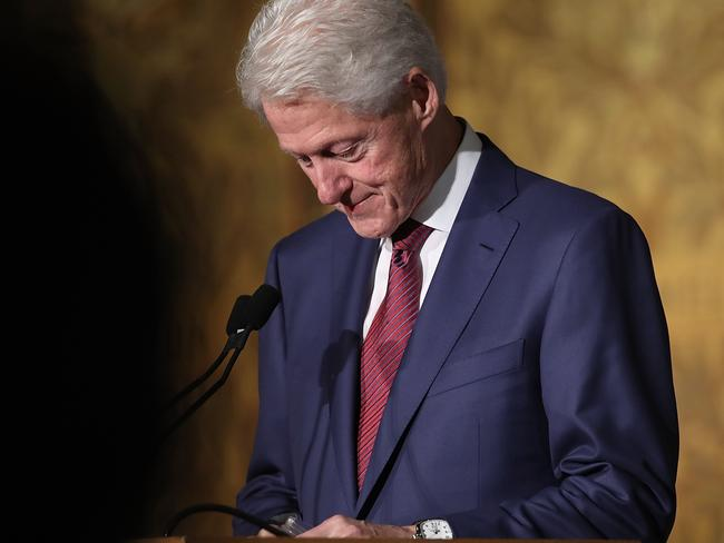 Former U.S. President Bill Clinton admitted to having an affair with intern Monica Lewinsky back in 1996-7. Picture: Win McNamee/Getty Images/AFP