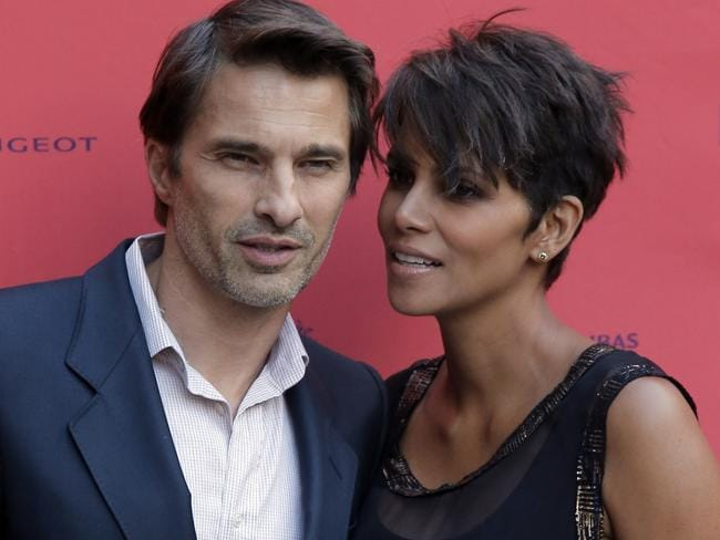 Olivier Martinez and Halle Berry in 2015.