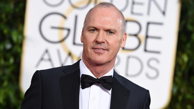 Man of the night ... Birdman star Michael Keaton. Picture: AP