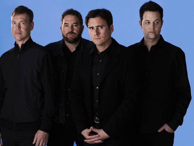 Coming to Australia ... American alt rock band Jimmy Eat World.