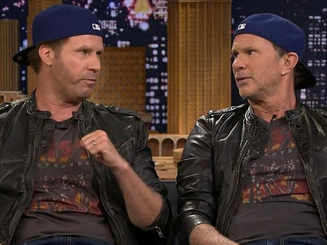 Will Ferrell and Chad Smith used their likeness to their advantage.