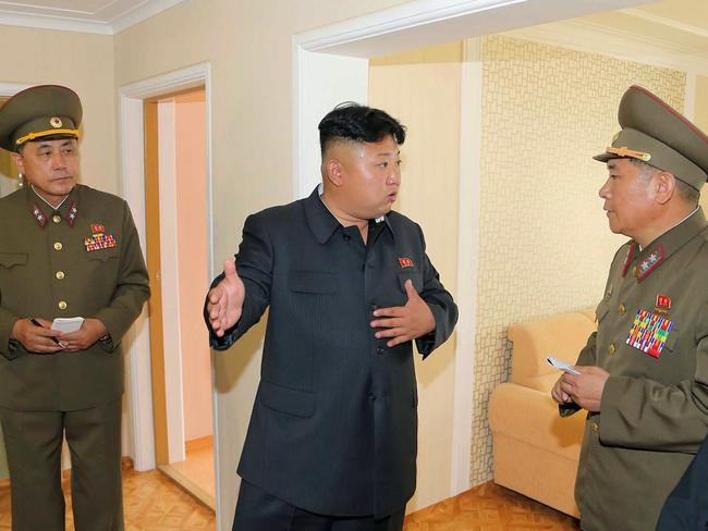 Rogue state ... North Korean has not taken kindly to criticism of its leader Kim Jong-un. AFP PHOTO / KCNA via KNS