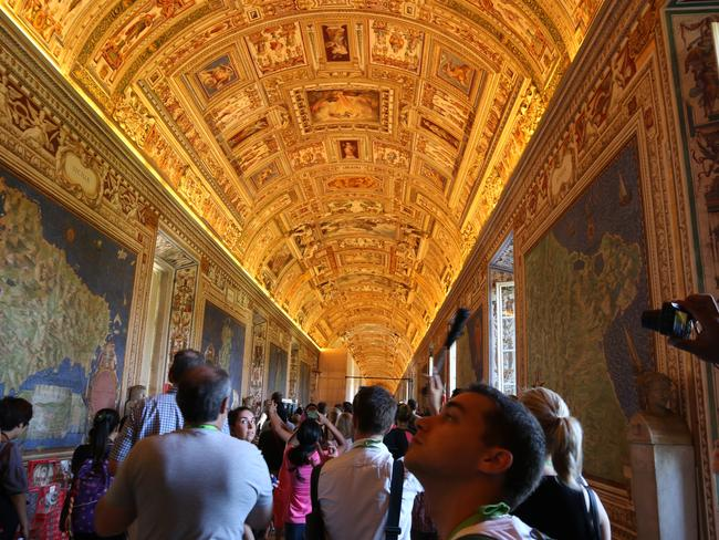 Trafalgar has organised for its guests to visit the Vatican Museum after hours, when it's a lot less busy.