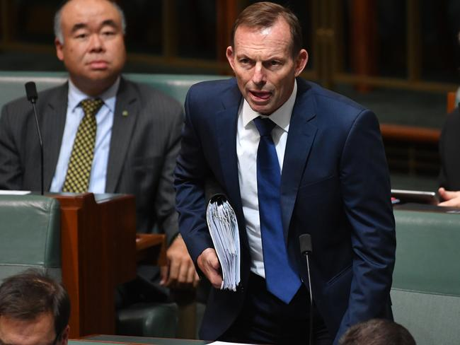 Gay marriage will be a big leap 'into the dark' for Australia, Tony Abbott has warned. Picture: AAP