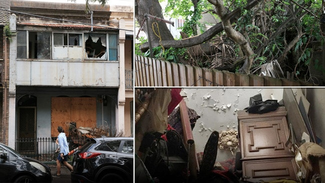 Council acts on derelict surry hills terrace who owns for Terrace house full episodes
