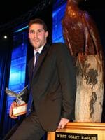 Darren Glass - Winner of the Club Champion Award. 2009 West Coast Eagles Football Club Champion Awards