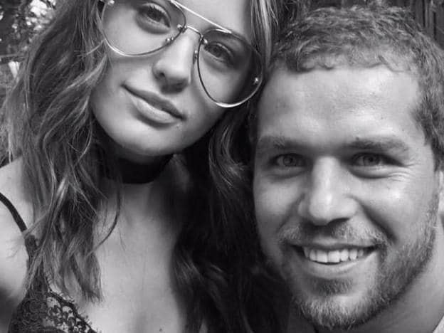 Jesinta and Buddy Franklin had a rocky start.