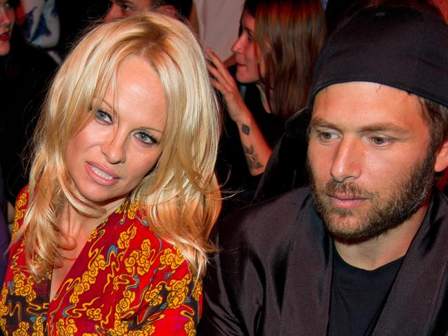 Pamela Anderson and Rick Salomon in September last year.