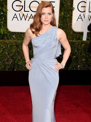 Sleek and chic ... actress Amy Adams. Picture: Getty Images