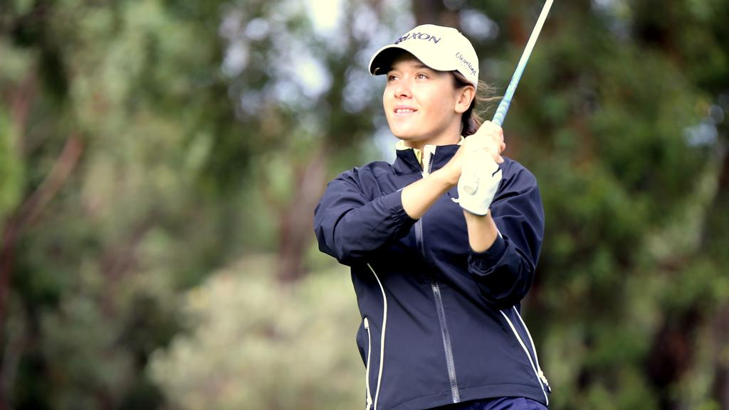 Hannah Green to go pro in 2016 after firing as many birdies as Lydia Ko at Women's Australian ...