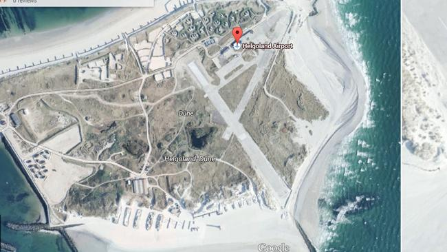 View of the runway. Picture: Google Earth