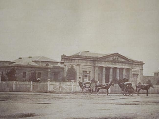 Darlinghurst courthouse where Louisa Collins was tried in 1888.