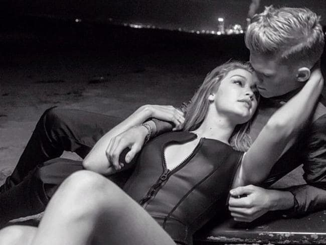 Young love ... Cody Simpson and Gigi Hadid. Picture: Instagram