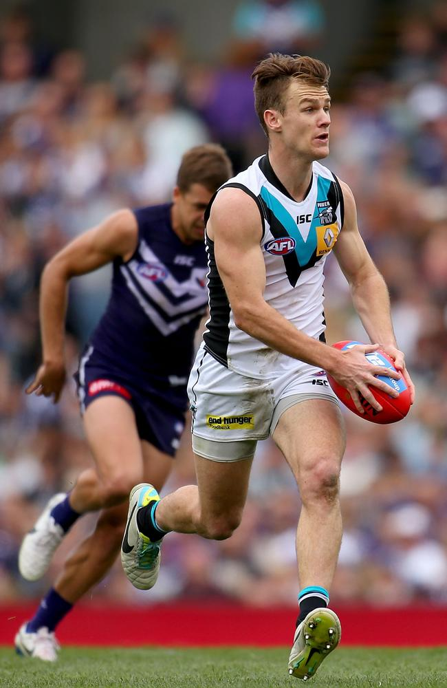 Robbie Gray in full flight. Picture: Getty
