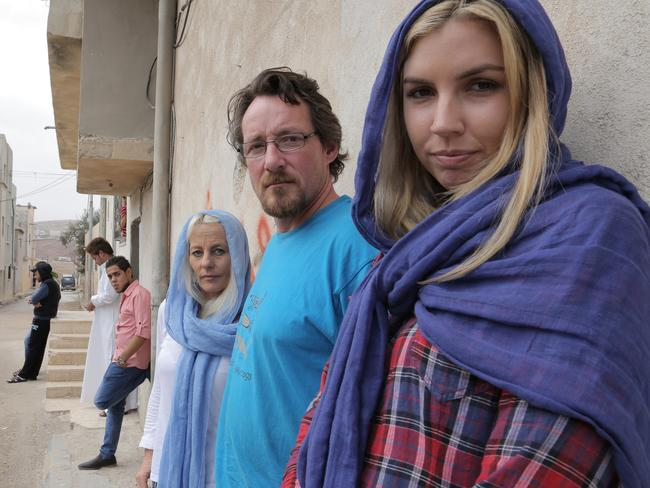 Nicole, Andrew and Kim travelled to Syria and Iraq for the show.