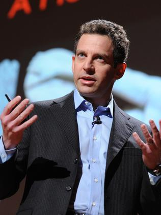 Famous atheist and author Sam Harris.