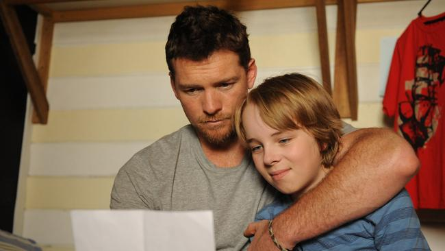 Sleeper hit ... Sam Worthington and Ed Oxenbould in Paper Planes.
