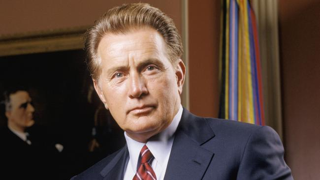 In the line of fire ... Martin Sheen was a target in The West Wing.