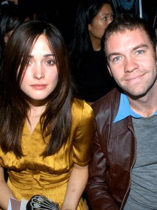 Former love ... Rose Byrne and Brendan Cowell during their six-year relationship. Picture: Supplied