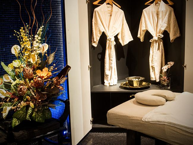A treatment room at Six Star Spa. Picture: Destination NSW