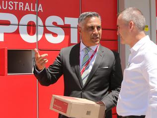 Woolworths and Australia Post