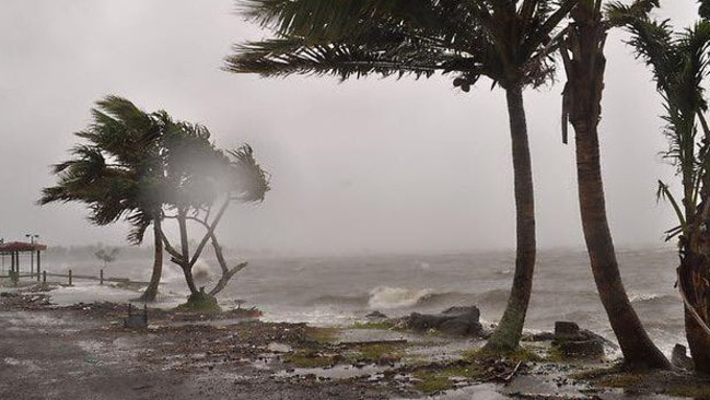Tropical Island Beach Ambience Sound: Fiji Braces For Severe Tropical Cyclone Winston