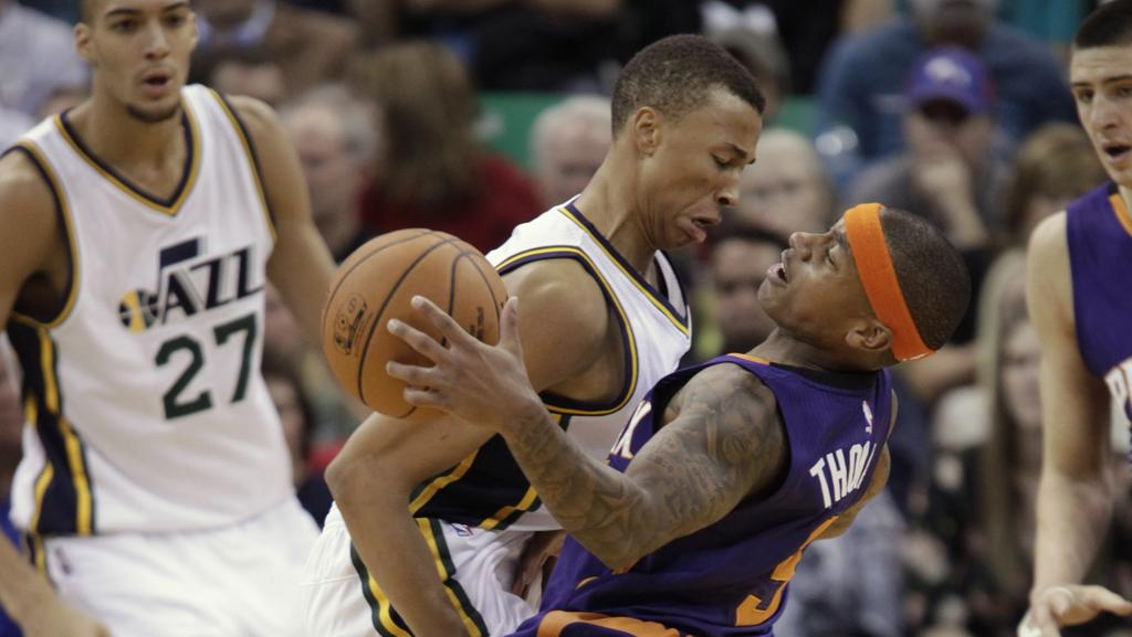 Dante Exum and Joe Ingles Frozen out by Jazz teammates ...