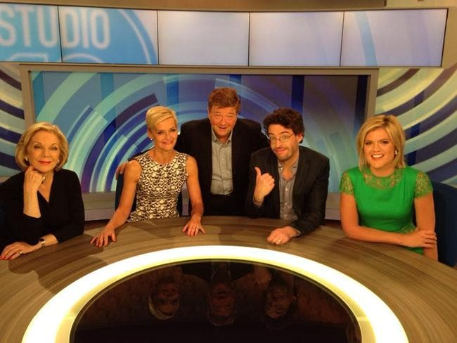 Joe Hildebrand has no doubt who the real male star of the show is.