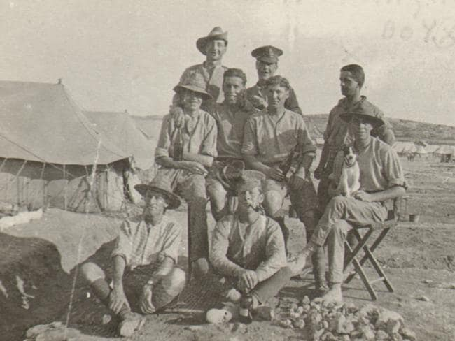 Island haven ... Recovering ANZAC soldiers in Malta during WW1. Picture: Courtesy of Malta's Heritage