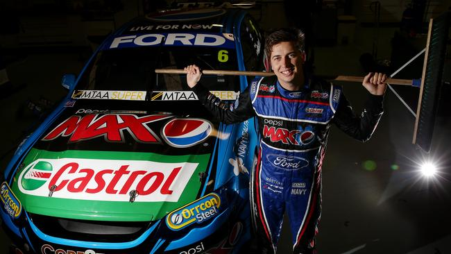 Mostert finished his apprenticeship while he started his racing career.
