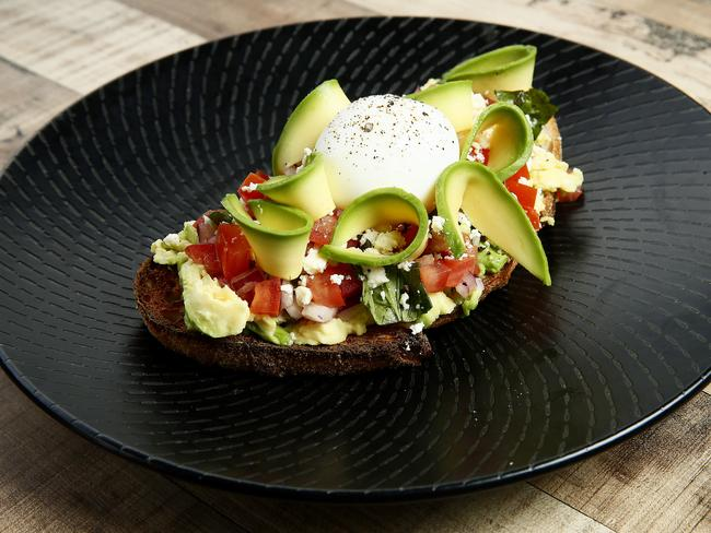 Eggs and avocado will keep you full for a long time. Picture: John Appleyard