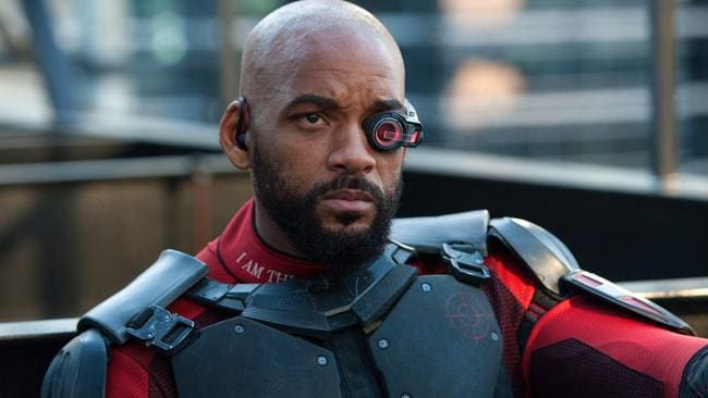 For the first time, Will Smith plays a villain in his latest film, Suicide Squad. Picture: Clay Enos/Warner Bros. Pictures via AP