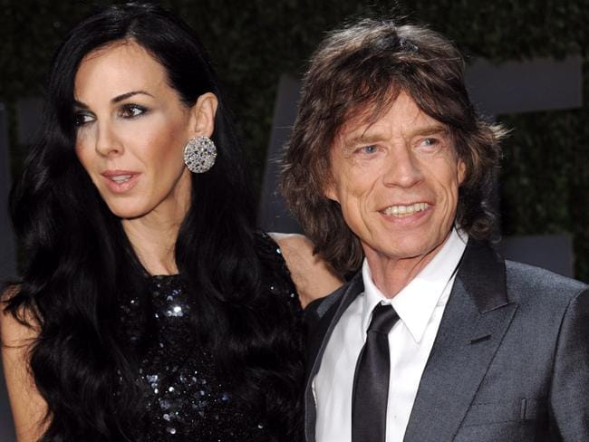 TRagic loss ... Mick Jagger and L'Wren Scott pictured in 2009. Picture: AP Photo/Evan Agostini