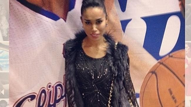 Dating ... Donald Sterling's girlfriend V Stiviano is reportedly of African American and