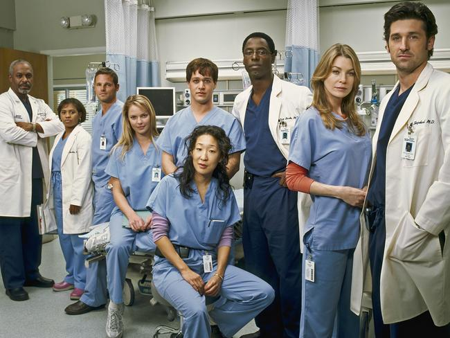 """Sandra Oh, here with James Pickens Jnr, Chandra Wilson, Justin Chambers, Katherine Heigl, T.R. Knight, Isaiah Washington, Ellen Pompeo and Patrick Dempsey in 2005, decided to leave having """"explored the character fully""""."""