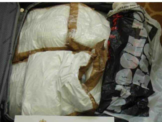 Part of the 90kg cocaine the trio carried aboard the MS Sea Princess into Australia.
