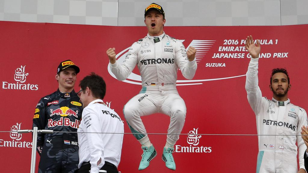 Rosberg is on track, but Hamilton may have an ace up his sleeve.