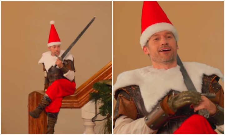 Forget Elf on the Shelf. 'Lannister on the Bannister' is more effective