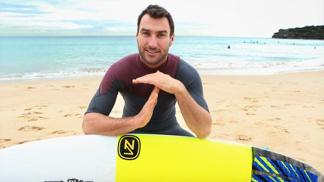 Parko is telling drinkers to take a time-out when out and about. Picture: Chris Pavlich