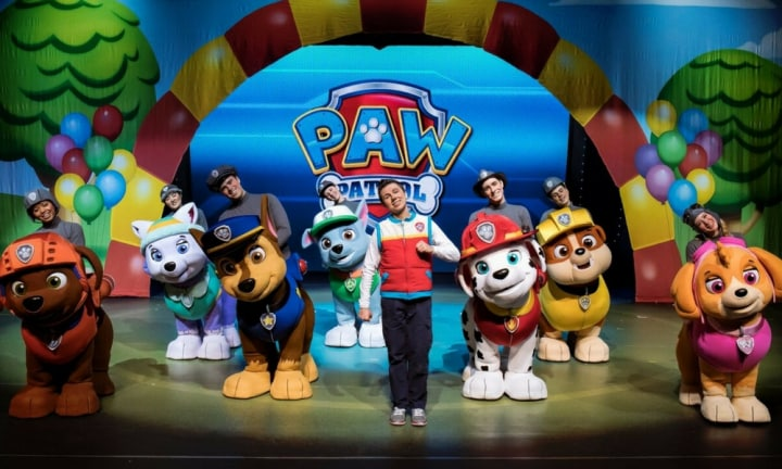 A new PAW Patrol Live show is coming to Australia