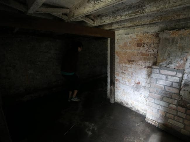 Things are rather spooky in the basement of Verulam. Picture: Tim Hunter