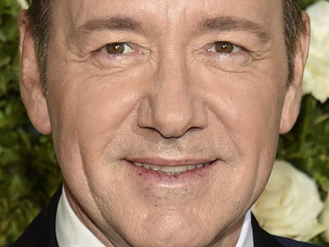 """FILE - In this June 11, 2017 file photo, Kevin Spacey arrives at the 71st annual Tony Awards at Radio City Music Hall in New York. Spacey is accused of sexual misconduct or assault by at least 24 men. London police are reportedly investigating a sexual assault. He was fired from """"House of Cards"""" and replaced in Ridley Scott's completed film """"All the Money in the World."""" His former publicist has said he is seeking unspecified treatment. (Photo by Evan Agostini/Invision/AP, File)"""