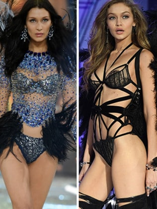 Bella and Gigi Hadid have become Victoria's Secret Angels. Picture: Supplied