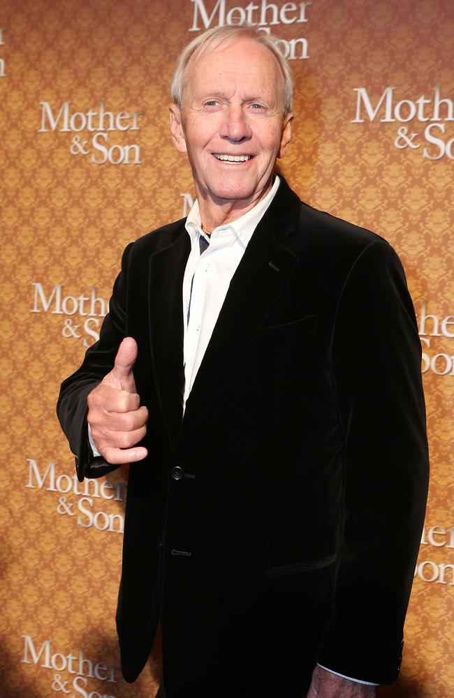 Paul Hogan on  <i>Mother & Son</i> red carpet.