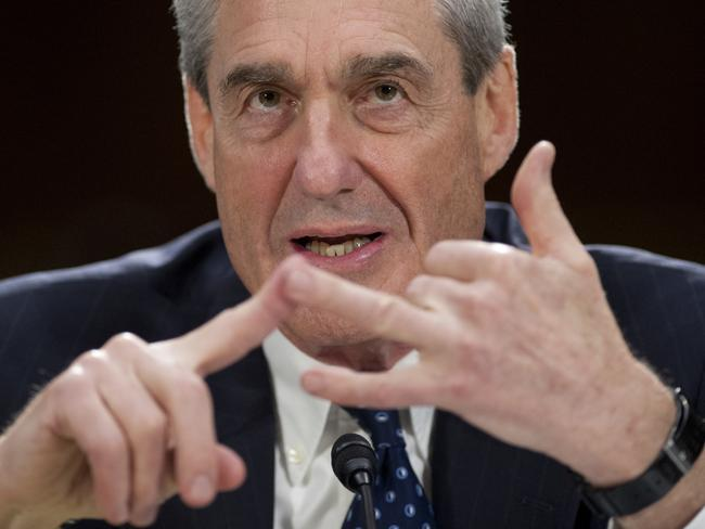 Robert Mueller, the special counsel investigating if Russia colluded in last year's bitter election campaign. Picture: AFP