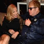 Sheryl Crow and Elton John attend the 2016 Vanity Fair Oscar Party. Picture: Kevin Mazur/VF16/WireImage