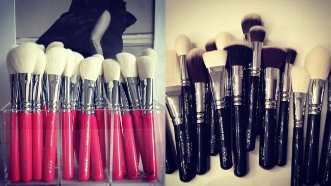 Zoe's business started with a search to find quality make-up brushes